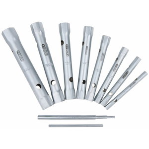 CLASSIC hex box spanner set,10pcs,6-22mm, KS Tools