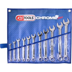"""Kombinēto uzgriežņatslēgu komplekts 1/4""""-7/8""""  imperial size, KS Tools"""