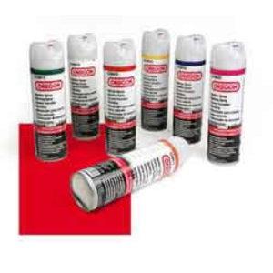 Sarkans marķēšanas aerosols, Oregon