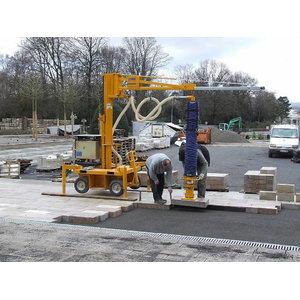 Vakuuminė plokščių klojimo mašina Jumbomobil JM-Vario 150E, Probst