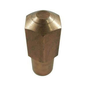 Tiesus elektrodas (kompl. 12 vnt), 7903, konusas 10,7, Tecna S.p.A.