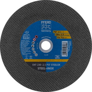 INOX режущий диск 230x2,5x22 A24P PS-F, PFERD