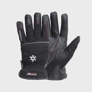 Kindad, PU peopesa, Spandex käeselg, talvine, Black Star 11, Gloves Pro®