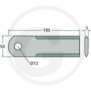 Vastulõiketera S-seeria JD H215004, Granit