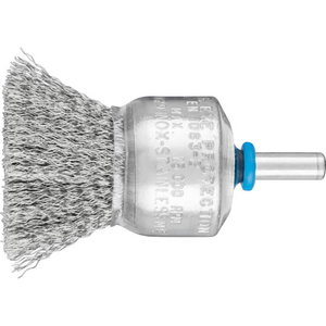 End brush 30x29/6mm INOX 0,2mm PBU, Pferd