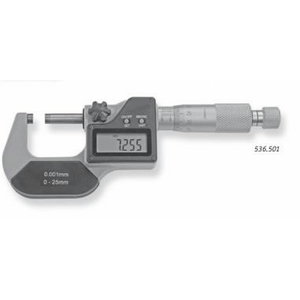 Digitālais mikrometrs 536, 50-75mm, Scala