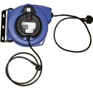 Electric cable reel 10m, 230V, 2kW, Orion