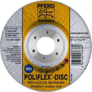 POLIFLEX DISC PFD 115-22 CN 150 PUR-MH