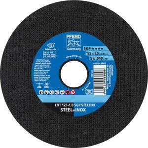 Pjovimo diskas 125x1mm SGP STEELOX, Pferd