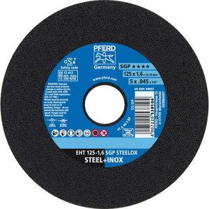 Atpjovimo diskas 125x1,6x22mm A46S SGP-INOX, Pferd