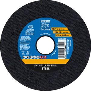 Metallilõikeketas 115x1,6x22 A46P PS-F, Pferd