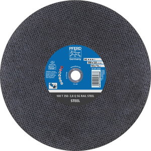 Diskas 350x3,8x25,4mm A24 Q RAIL, Pferd