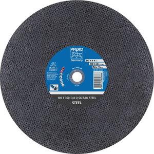 Disks 350x3,8x25,4mm A24 Q RAIL, Pferd