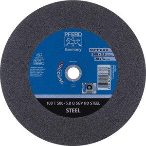 Cut-off wheel 500x5,8/40,0mm N SGP HD STEEL, Pferd