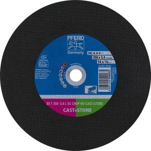 Pjov.disk.metalu 350x3,4/25,4mm C36 L SG-CHOP-HD, Pferd