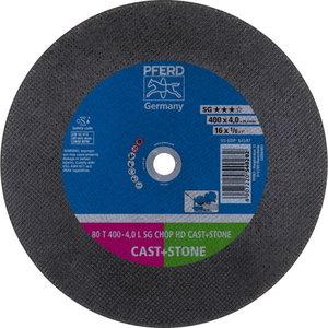 Pjov.disk.metalu 400x4,0/25,4mm C36 L SG-CHOP-HD, Pferd