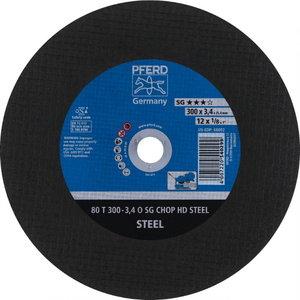 Diskas   80 T300-3,4 A30 O SG-CHOP-HD 25,4, Pferd