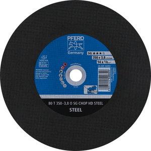 Diskas  80 T350-3,8 A30 O SG-CHOP-HD 25,4, Pferd