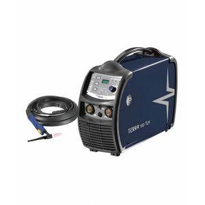 TIG-welder Terra 180 TLH set w.torch &work cable, Böhler Welding