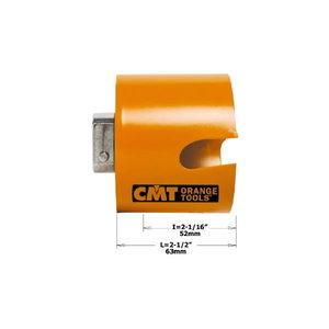 Gręžimo karūna medis&plastikas HW D=22mm H=52mm RH, CMT