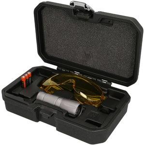 Akumuliatorinis UV nuotėkio aptikimo  rinkinys, 2 vnt, KS Tools