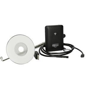 Wi-Fi videoscope set, 5 pcs., KS Tools