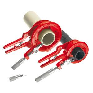 Plasttoru lõikuri kmpl ROCUT 110, 50-75-110mm, faasijaga, Rothenberger