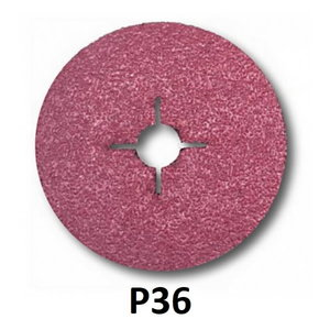 Fibrodiskas juodam metalui 982C Cubitron II 125mm P36+