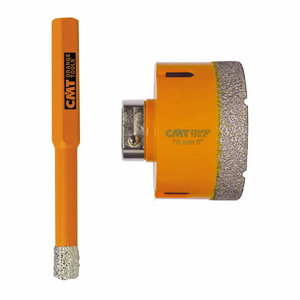 Teemantpuur 8mm H=35 DP RH, CMT