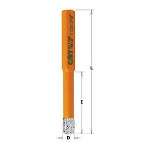 Deimantinis centravimo grąžtas 10 mm HEX, CMT