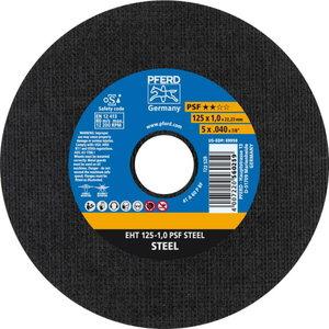 Metallilõikeketas 125x1,0mm PSF STEEL a60P PS-F, Pferd