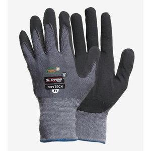 Cimdi, nitrila putu pārklājums delnas daļā, Grips Tech 11, Gloves Pro®