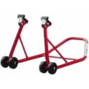 Motor-bike stand to free the front wheel, OMCN