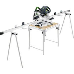 Sliding compound mitre saw KAPEX KS 120 EB, MFT-3 table, Festool
