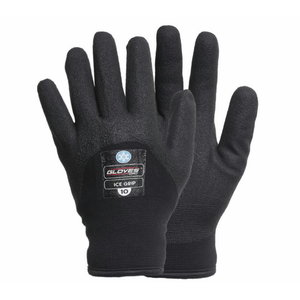 Pirštinės, vinilo puta, Ice Grip, juoda 12, Gloves Pro®
