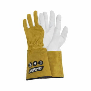 MIG high quality welding gloves, yellow 8, Gloves Pro®