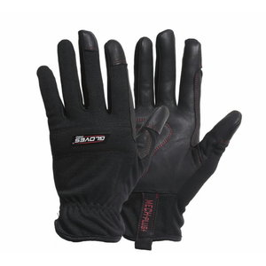 Kindad, kitse pealisnahk, polüester käeselg, MECH PLUS 10, , Gloves Pro®