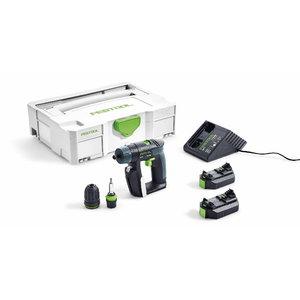 Akumulatora urbjmašīna CXS Li Plus / 10,8 V / 2,6 Ah, Festool