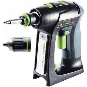 Cordless drill C 15 Li-Basic, Festool