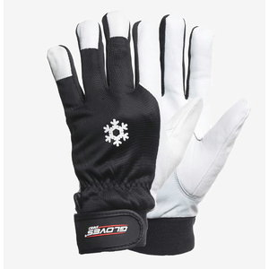 Gloves goatskin/nylon backhand, MECH-WINTER 10, Gloves Pro®