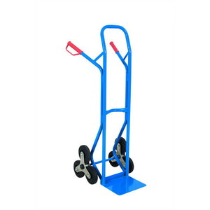 Step truck LSP20, capacity 200kg,wheels-solid rubber, Intra
