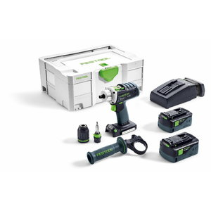 Akumulatora urbjmašīna DRC 18/4 Li Plus / 18V / 5,2Ah, Festool