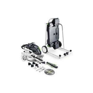 Sliding compound mitre saw KAPEX KS 60 E-UG-SET, Festool