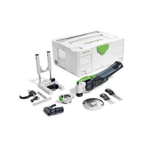 Akuga multitööriist VECTURO OSC 18 Li E-Basic Set karkass, Festool