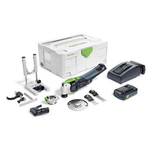 Akuga multitööriist OSC 18 Li 3,1 E-Set VECTURO, Festool