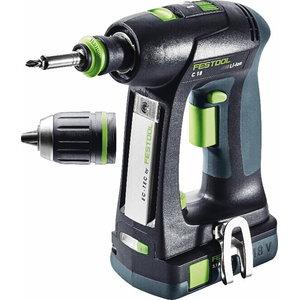 Cordless drill C 18 Li Compact / 3,1 Ah, Festool