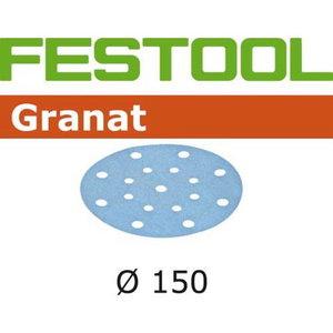 Abrazīvi Granat STF D150/16, P40, 50 gab., Festool