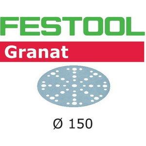 Šlifavimo popierius Granat STF D150/16 P150 GR100X 100 vnt., Festool
