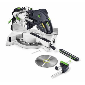 Sliding compound mitre saw KAPEX KS 120 EB, Festool