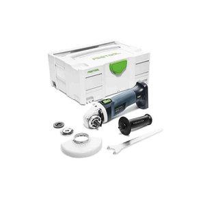 Akumulatora leņķa slīpētājs AGC 18-125 Li EB-Basic, Festool